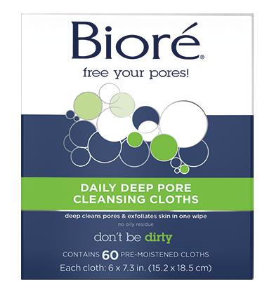 Bioré Daily Deep Pore Cleansing Cloths