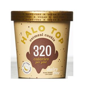 Halo Top Oatmeal Cookie Dairy-Free Ice Cream