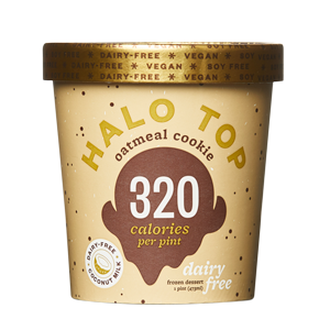 Halo Top Oatmeal Cookie Dairy-Free Ice Cream