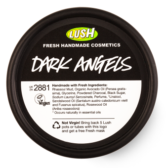 Lush Dark Angels Facial Cleanser