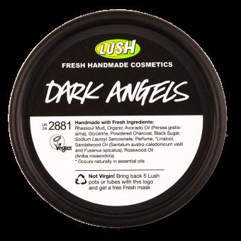 Lush Dark Angels Facial Cleanser