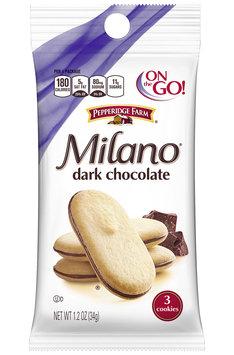 Pepperidge Farm® Milano® Dark Chocolate Cookies