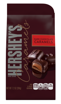 Hershey's Caramels In Dark Chocolate