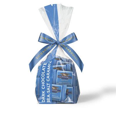 Ghirardelli Dark Chocolate Caramel Squares Gift Bag