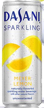 Dasani® Sparkling Meyer Lemon Naturally Flavored Water