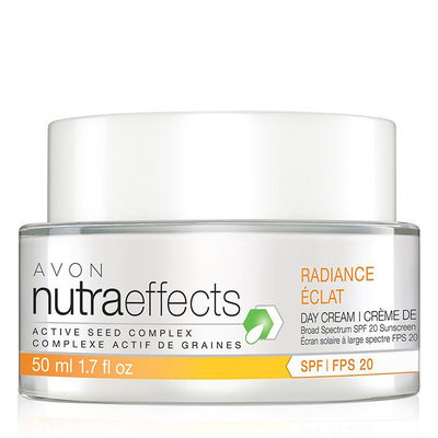 AVON Naturaeffects Radiance Day Cream Broad Spectrum SPF 20