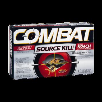 Combat Source Kill Small Roach Advanced Formula Bait Stations - 12 CT