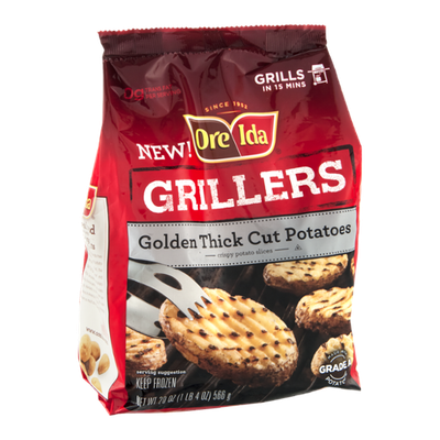 Ore Ida Grillers Cut Potatoes Golden Thick
