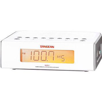 Sangean America Digital AM/FM Clock Radio With Dual Alarms