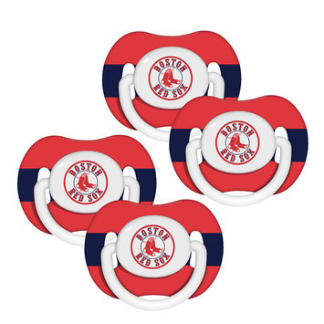Kohls Baby Fanatic Boston Red Sox 4 Pack Baby Pacifiers