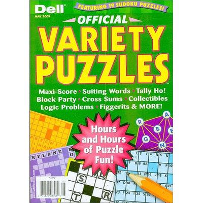 Kmart.com Official Variety Puzzle & Word Games Magazine - Kmart.com
