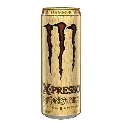 Monster Energy Monster X-presso Coffee Energy Drink, Hammer, 9.6-Ounce Cans (Pack of 12)
