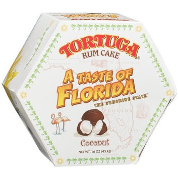 Tortuga 'A Taste of Florida' Coconut Rum Cake, 16-Ounce Box