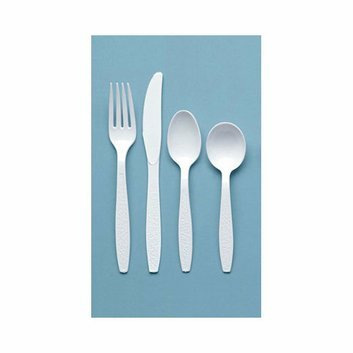 Solo Cups 100/Box Heavyweight Polystyrene Teaspoons in White
