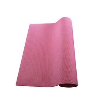 Sivan Health And Fitness Yoga and Pilates Mat, Red, 1 ea