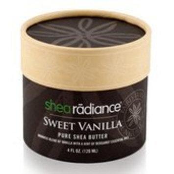 Shea Radiance Sweet Vanilla Pure Shea Butter 4 oz