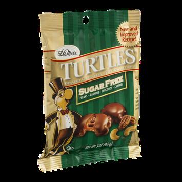 DeMet's Turtles Sugar Free Caramel Nut Clusters