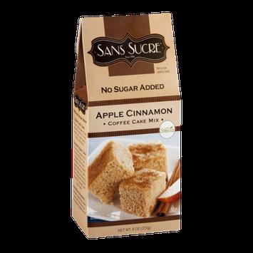 Sans Sucre Coffee Cake Mix Apple Cinnamon No Sugar Added