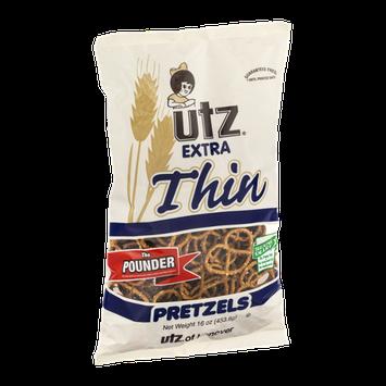 Utz Extra Thin Pretzels The Pounder