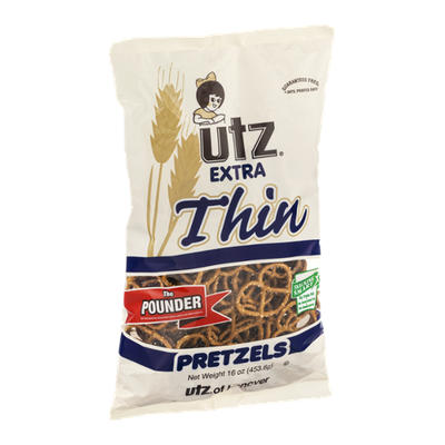 Utz Extra Thin Pretzels The Pounder