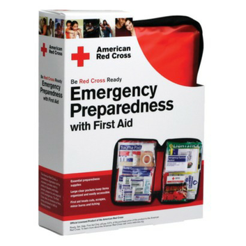 American Red Cross Emergency Preparedness 106-pc. First Aid Kit