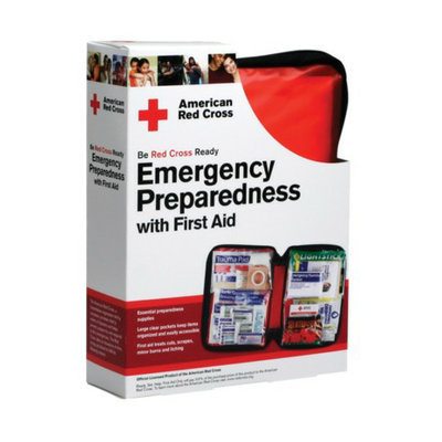 American Red Cross Emergency Preparedness 106-pc. First Aid Kit