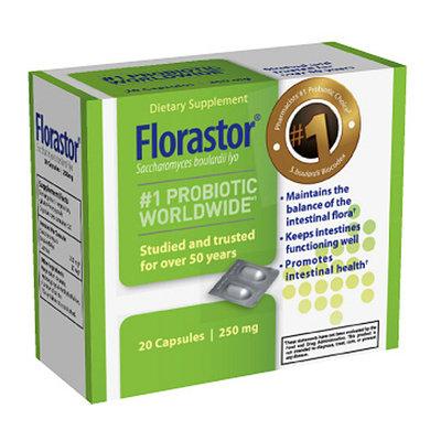 Biocodex Florastor Probiotic Dietary Supplement 20ct Capsules