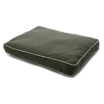 Dog Gone Smart Olive Rectangular Dog Bed, Medium