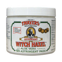 Thayers Original Witch Hazel with Organic Aloe Vera Formula Astringent Pads