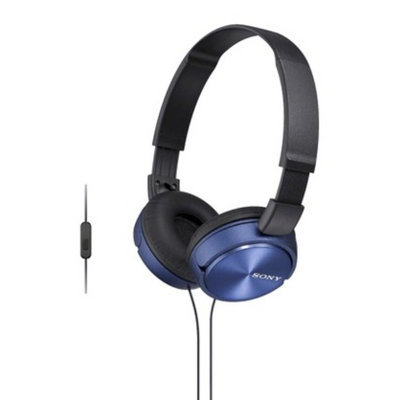Sony On-the-Ear Headphones for Smartphones - Blue (MDRZX310AP/L)