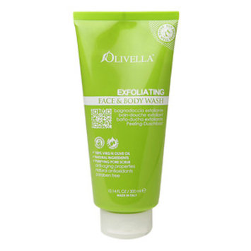 Olivella - Exfoliating Face & Body Wash - 10.14 oz.