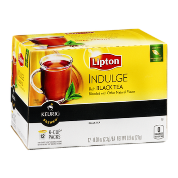 Lipton Indulge Black Tea K-Cup Packs - 12 CT