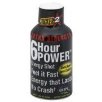 Stacker 2 Extreme 6 Hour Power Energy Shot, GRAPE, 2 Ounce Bottles (Pack of 12)
