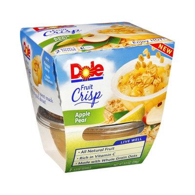 Dole Fruit Crisp Apple Pear Bowls - 2 CT