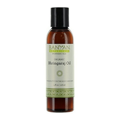 Banyan Botanicals Bhringaraj Oil - Certified Organic, 4 oz - Tranquility for the Body and Mind