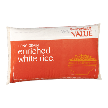 Guaranteed Value Enriched White Rice