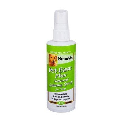 Nutri Vet Nutri-Vet Pet-Ease Natural Calming Spray for Dogs, 4 Ounce