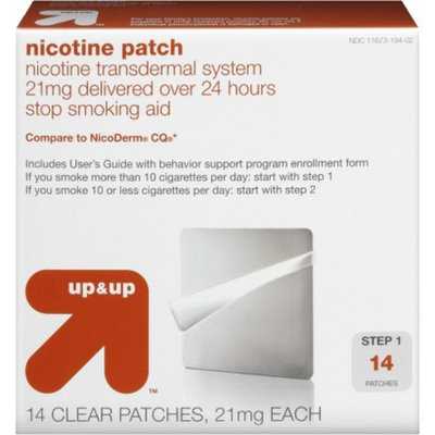 Up & Up Nicotine Step 1 Patch 14-pk. - Original (21 mg)
