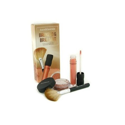 BareMinerals Bronzed & Brilliant 3 Piece Collection For Sun Kissed Complexion - Bare Escentuals - MakeUp Set - BareMinerals Bronzed & Brilliant 3 pcs Collection - 3pcs