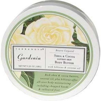 Terra Nova Terranova Gardenia Shea and Cocoa Body Butter, 0.56 Ounce