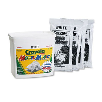 Crayola CYO574400 Model Magic Clay, White, 2 lbs.
