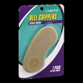 CareOne Heel Grippers Sponge Rubber