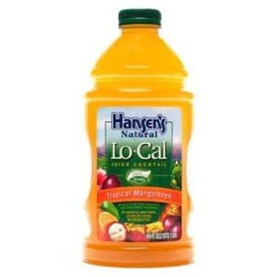 Hansen's Lo-Cal Tropical Mangosteen Juice, 64 Ounce Bottles (Pack of 8)