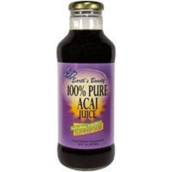 Earth's Bounty Earths Bounty Acai Juice 100% Pure 16 oz
