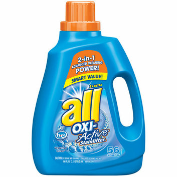 All 2X Ultra Oxi-Active Stainlifter High Efficiency Liquid Laundry Detergent