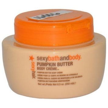 Sexy Hair Concepts Sexy Hair Sexy Hair Sexy Bath and Body Body Creme, Pumpkin Butter, 8.5 Ounce