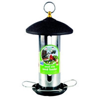 Gardman BA01483 Seed Silo Seed Feeder, Black (Discontinued by Manufacturer)