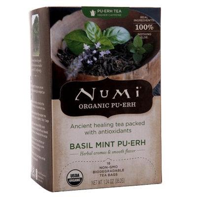 Numi Organic Tea Basil Mint Pu-erh