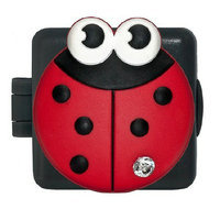 GeoPalz JuJu Bug Lady Bug Pedometer