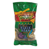 Guiltless Gourmet Spicy Black Bean Tortilla Chips, 7 oz (Pack of 12)